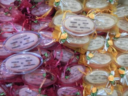 Jessamine Soap Company Door Gifts Order For Two Couple Wedding