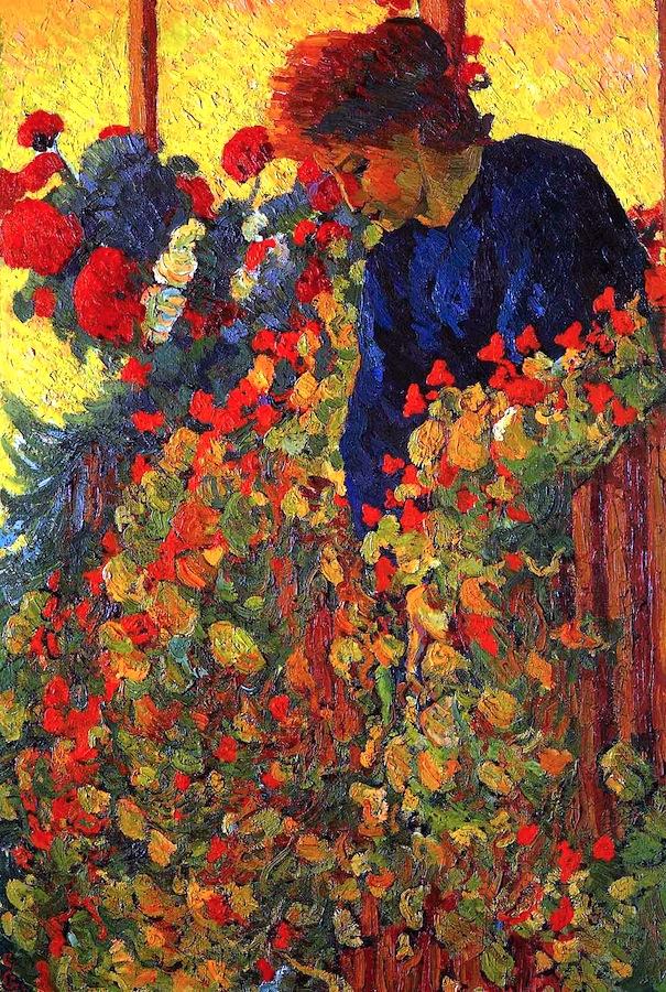Arte   Giovanni Giacometti  Winter