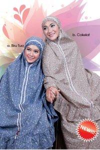 Mukena Dewasa Tatuis Tiara 093- Coklat (Toko Jilbab dan Busana Muslimah Terbaru)