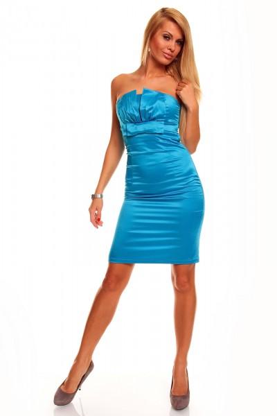 robes l gantes robe bleue turquoise. Black Bedroom Furniture Sets. Home Design Ideas