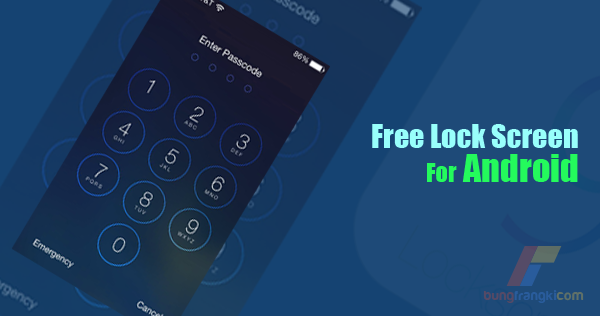 Download Aplikasi Lock Screen Android dengan Tampilan iPhone