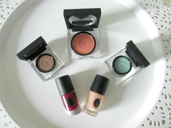 SOTHYS Paris Makeup Kollektion - Herbst/Winter 2014 Swatches