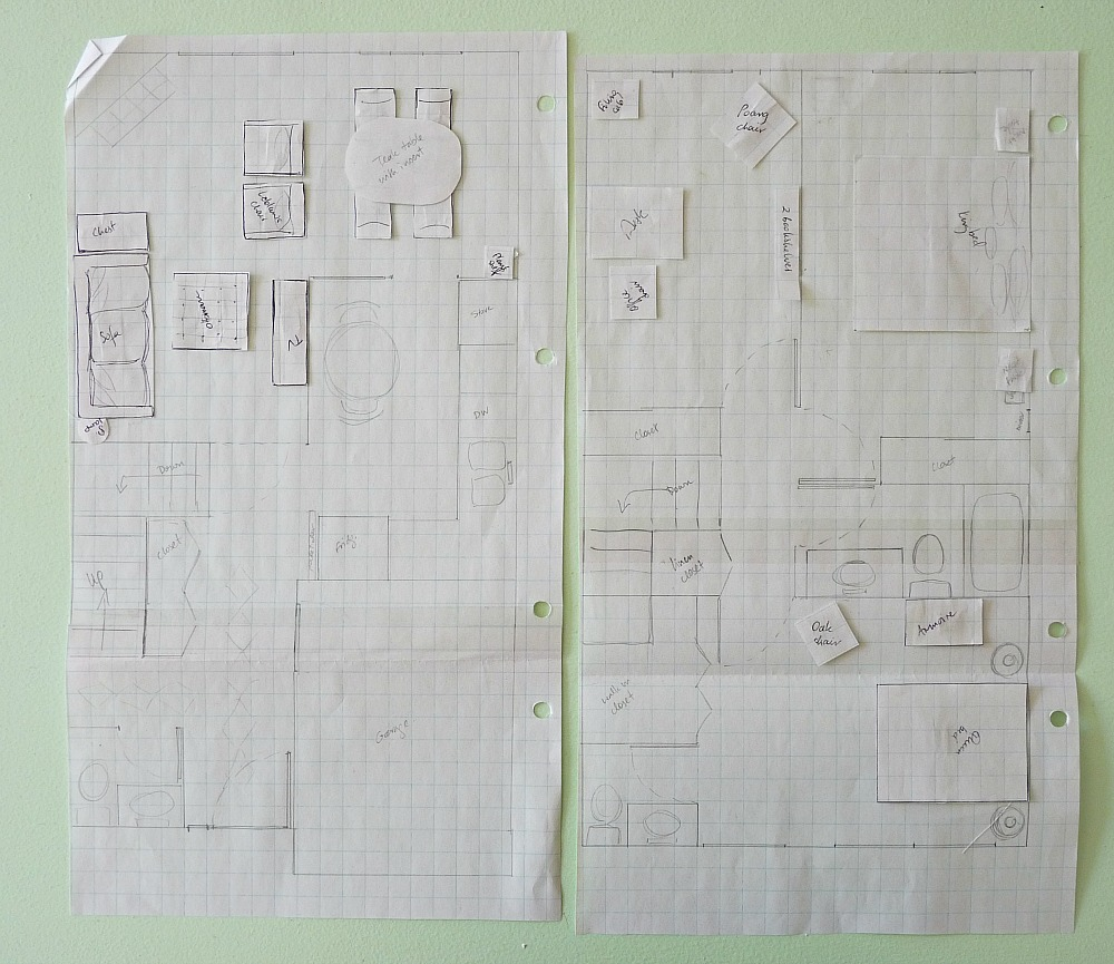 How To Make An Old Fashioned Floor Plan With Graph Paper