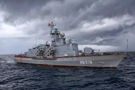 Tàu tên lửa hiện đại lớp Molnya Project 12418