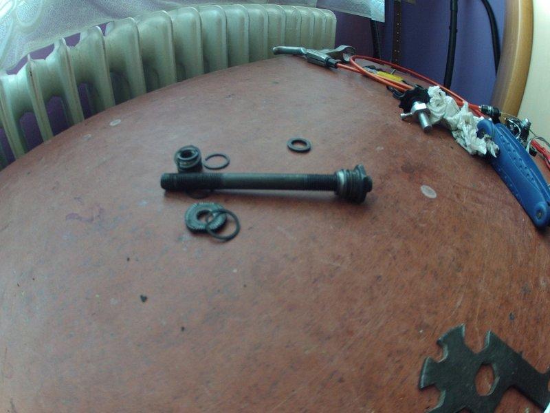 Piasta Hub Shimano FH-M475 Axle