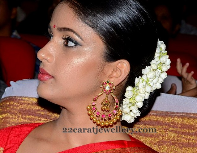 Lavanya Tripati Ruby Chandbalis