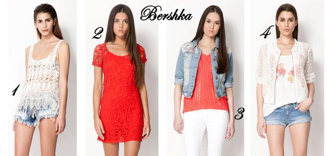 Crochet Bershka