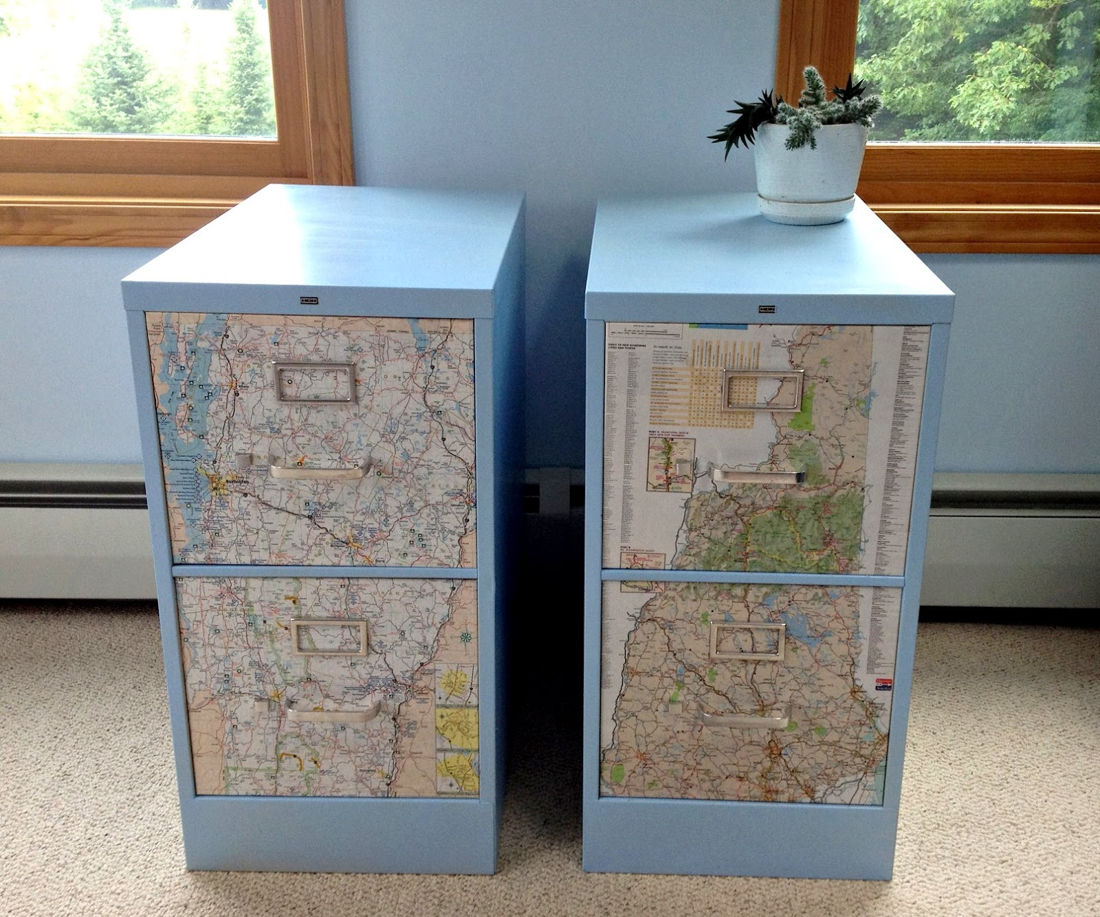 painted cabinet shells voila your fancy sister state file cabinets are. Black Bedroom Furniture Sets. Home Design Ideas