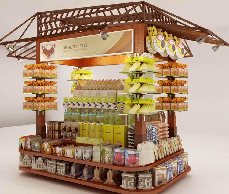 Manufacturer and supplier kiosk in uae shoping mall for Garden kiosk designs