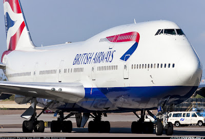 Simulando o voo BA0247: de Heathrow a Guarulhos no Boeing 747  G-CIVT