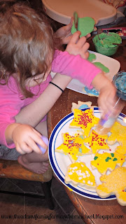 Toddler School - Decorating Sugar Cookies