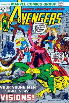 Avengers #113