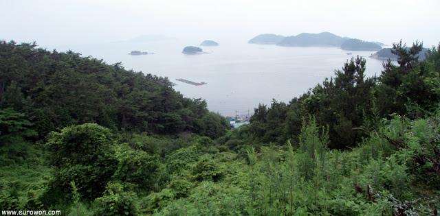 Costa sur de Corea del Sur