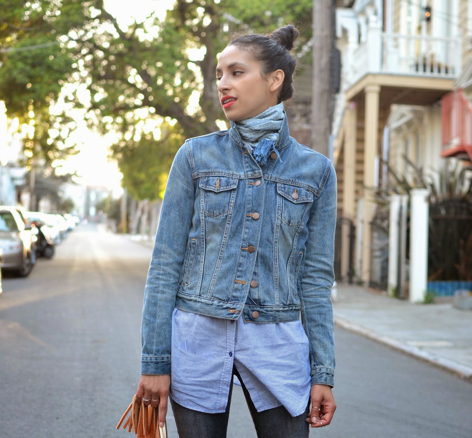 Allergic to Vanilla: the perfect denim jacket
