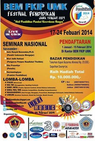 Seminar Nasional - Festival Pendidikan 2014