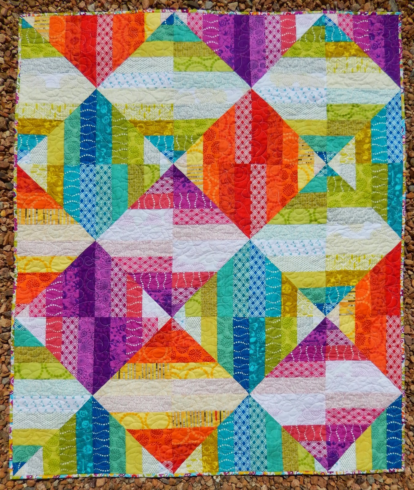 Quilting Mod Sorbet Quilt