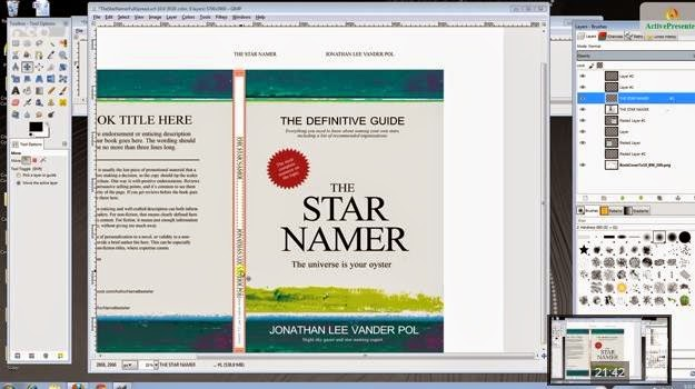 How To Create A Book Cover Using Gimp : Cozy in texas how to design a book cover what program