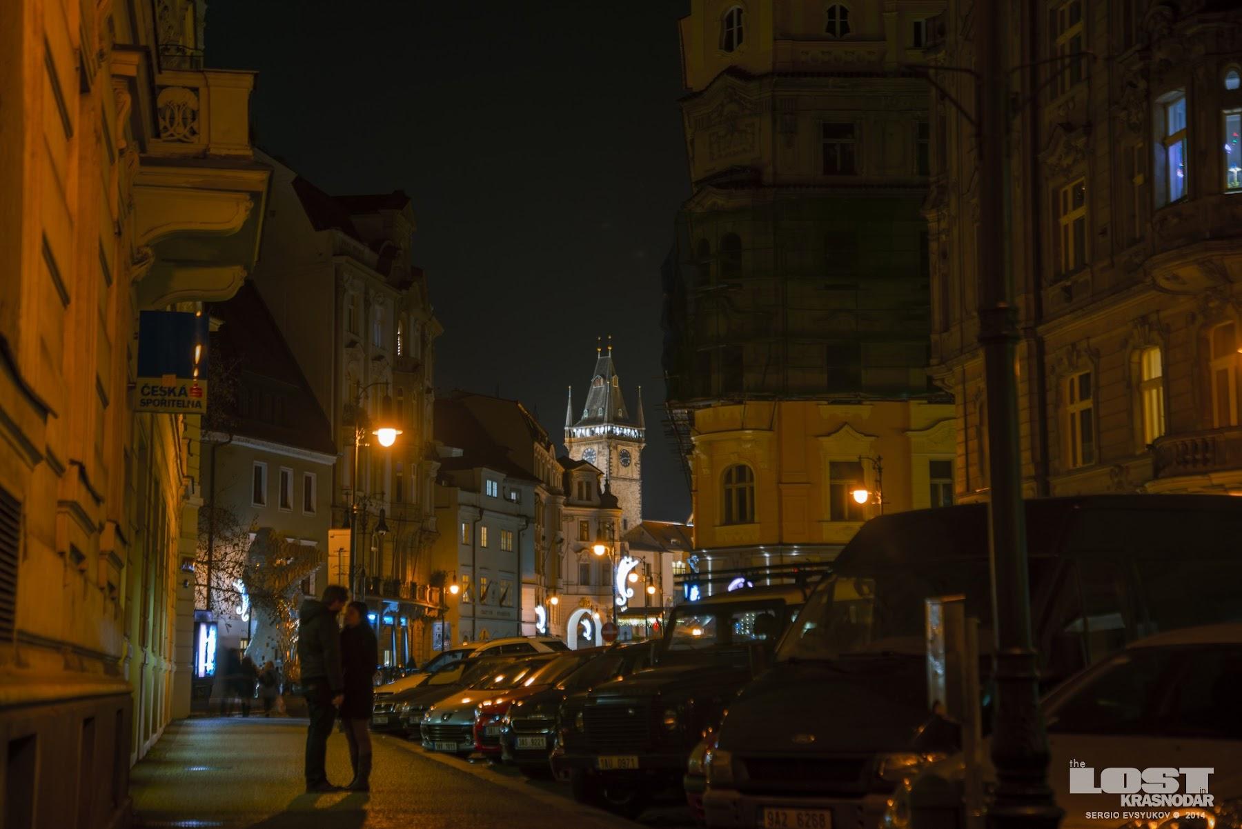 Night in Praha