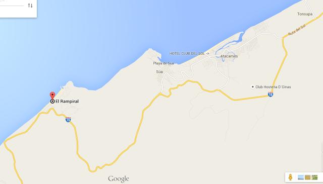 como llegar mapa - Hosterías en Same Ecuador – Hostería El Rampiral