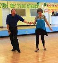 Dancing the Viennese Waltz with my Instructor, Richard Blachford
