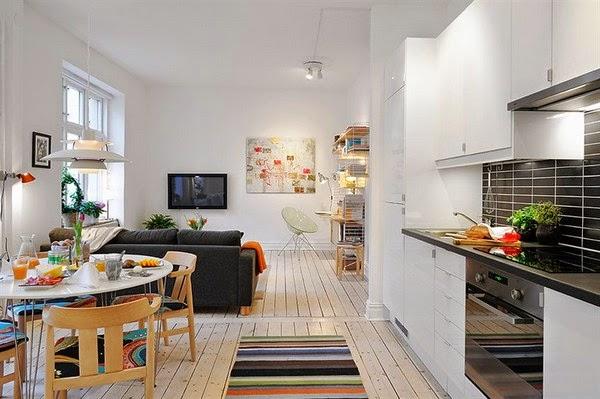 Como decorar uma kitnet mariana ara jo - Ideas para decorar un piso moderno ...