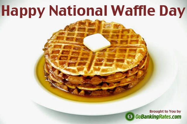 Happy National Oatmeal Nut Waffles Day
