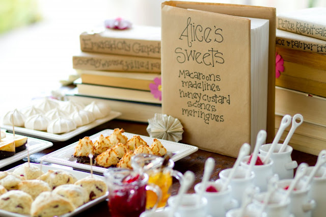 Storytime book themed party