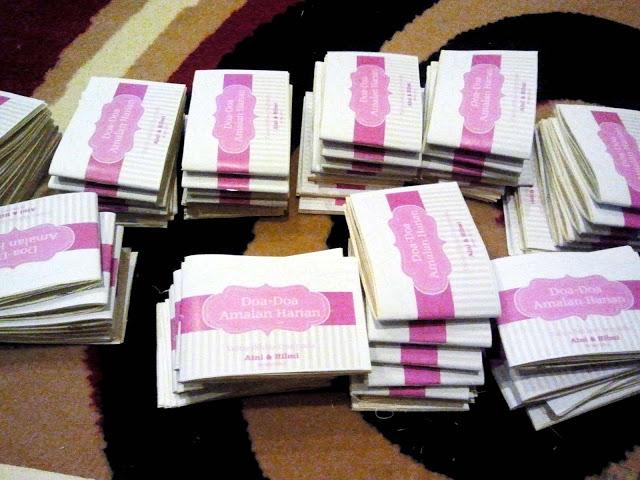 Wedding diaries calon calon wedding doorgift for Idea door gift kahwin 2013
