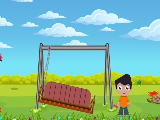 Cute Boy Swing Escape