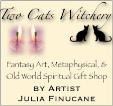 SHOP the GIFT SHOP for Art & Handmade Witchy fun stuff!