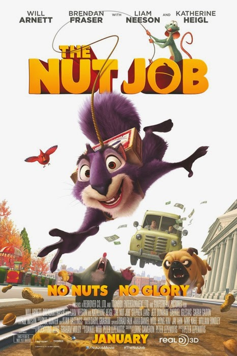 The Nut Job - worst movie of 2014