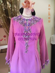LACE TABURAN PEARL(BUSANA KURUNG MODEN)