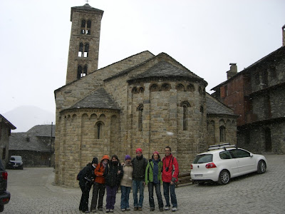 Santa Maria de Taüll romanesque church in Vall de Boí