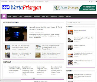 Website Warta Priangan