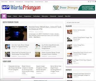 Website Warta Priangan