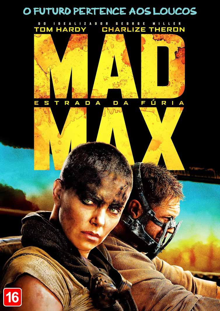 Mad Max: Estrada da Fúria Torrent - Blu-ray Rip 1080p 3D Dual Áudio (2015)