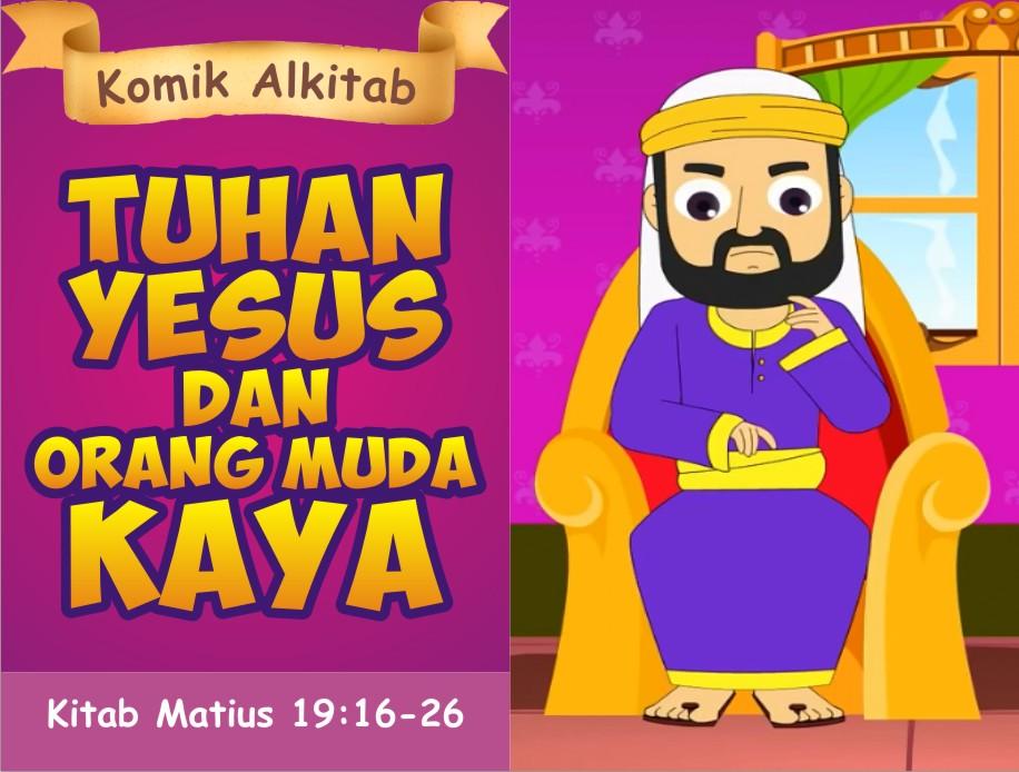Tuhan Yesus dan Orang Muda yang Kaya