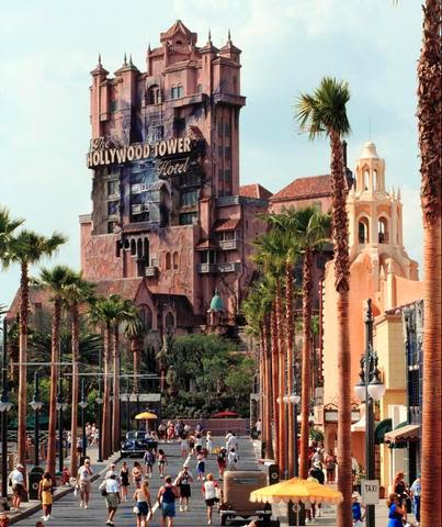 Torre do terror da Disney