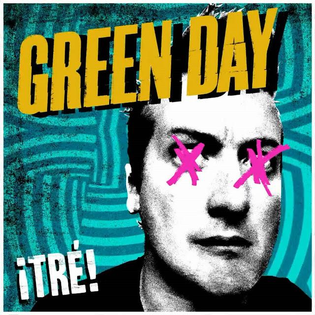 Copertina Green Day - ¡Tré!
