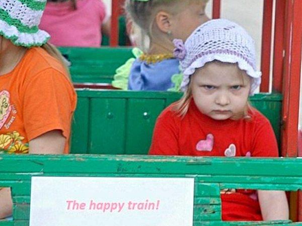 The happy train!