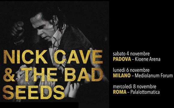 Nick Cave - Padova 04.11.2017