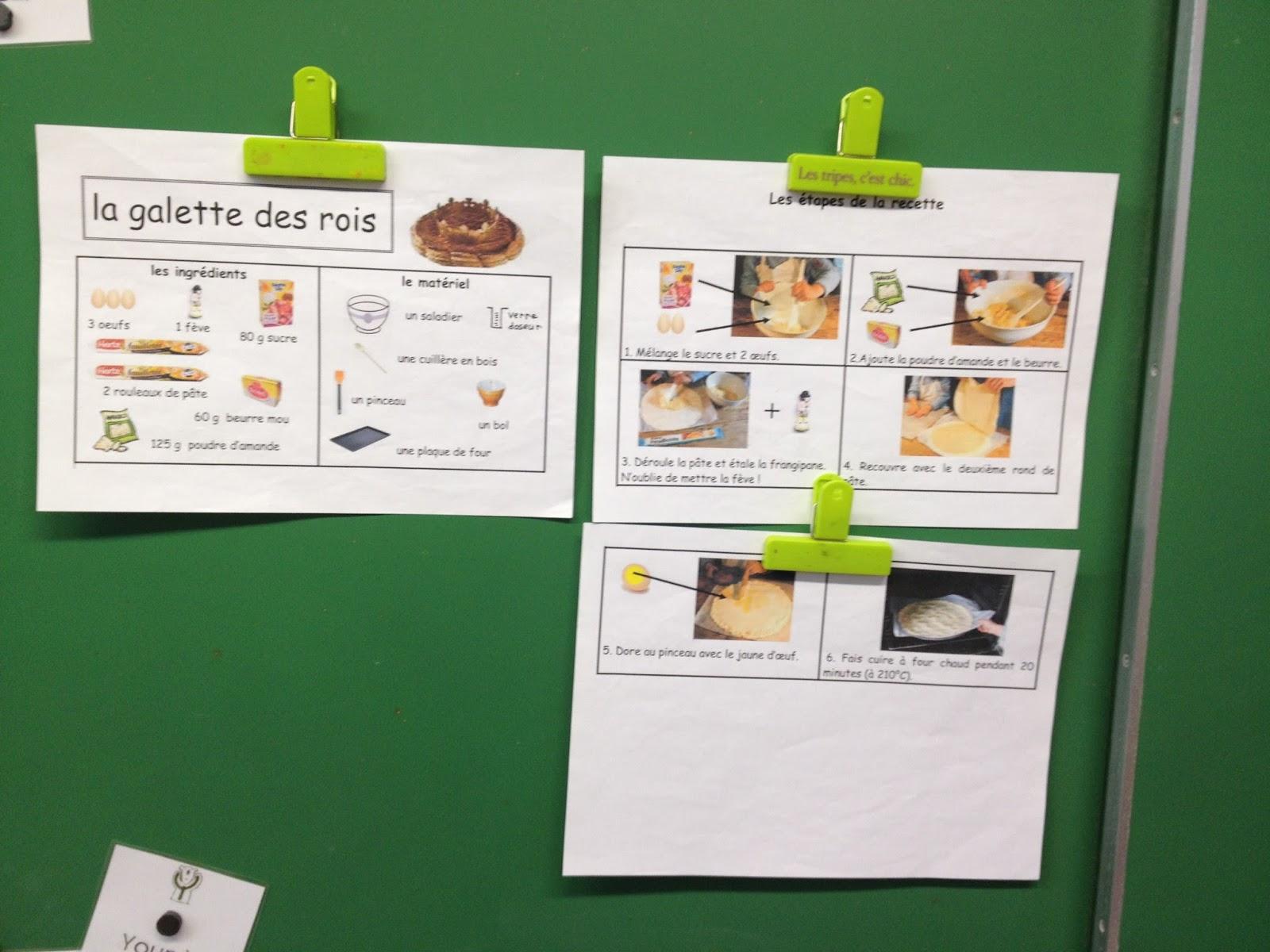 La classe de cl mence l 39 atelier cuisine du mois de janvier for L atelier cuisine
