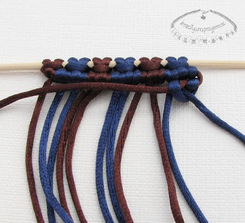 węzeł rypsowy - makrama - 18