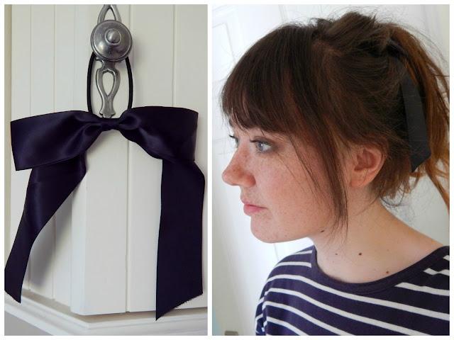 H&M Parisian Hair Bow Ribbon