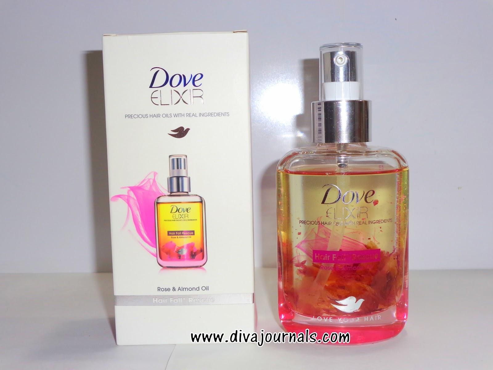 Dove Elixir Hairfall Rescue Hair Oil Review