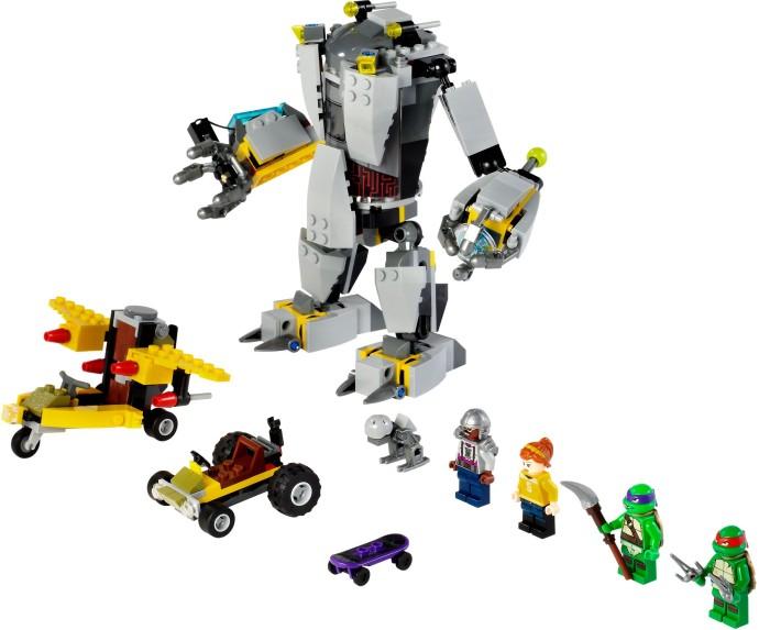 Lego Teenage Mutant Ninja Turtles: Retro is Back! | Lego ...