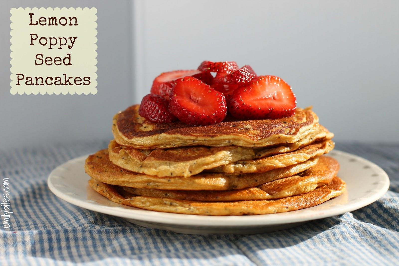 Lemon Poppy Seed Pancakes | Pinnutty.com