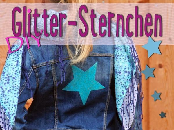 Glitter-Sternchen DIY