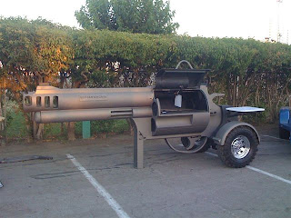 funny weapons fail picture pistol bbq