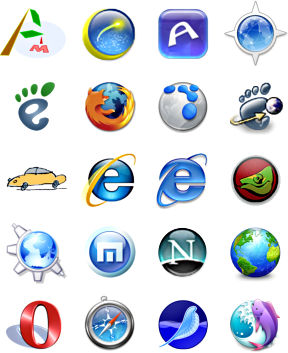 Which Internet Browser Rarely Known People | Computer ...